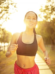 Exercise and a bit of sunlight can help combat the depression often accompanying parental alienation.