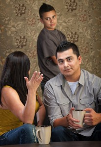 Family therapy helps with problems between you, your kids, and your spouse.